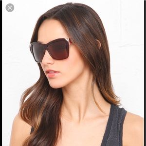 House of Harlow 1960 sunglasses Marie P259012 Rose
